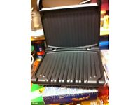 GEROGE /FORMAN SANDWITCH MAKER AND GRILL GRIDDLE AS NEW