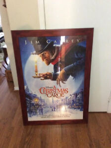 A Christmas Carol movie poster, Jim Carrey