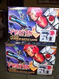 Electronic Battle Game - Entertech Photon Warrior - Set of Two
