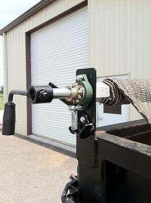 Dump Truck Trailer Hand Crank  Manual Pull Tarp Roller Kit  6' to 8' wide NEW