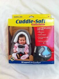 Baby head and body support