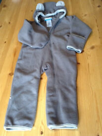 18-24 months Columbia fleece all-in-one suit (snowsuit / pramsuit)