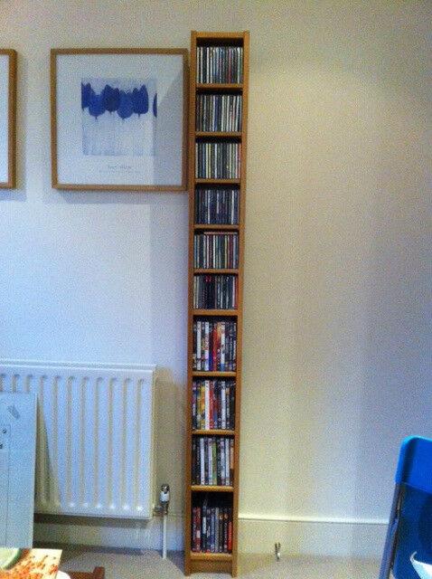 IKEA Gnedby CD shelving unit