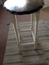 Oak Painted Side Table