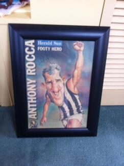 Collingwood Football Club Memorabilia -  Signed Prints Balwyn North Boroondara Area Preview