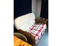 Conservatory Sofa and small table