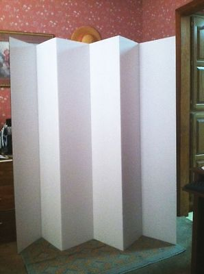 Zoom Screen Backdrop Room Divider Dorm Privacy Screen 5 1/2 Ft  tall