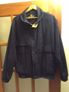 Men's Size Large Navy Blue, Spring / Fall Jacket