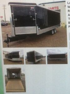 2009 27 ft enclosed trailer (REDUCED) $10,000