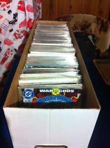 ONE LONG BOX OF COMIC BOOKS for sale.