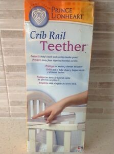 "BRAND NEW! ""CRIB RAIL TEETHER""~SMOKE & PET FREE HOME!"