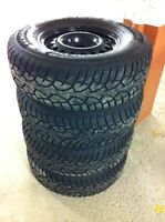 NEW Winter Tires + Rims for Truck or SUV
