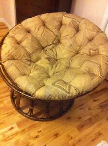 comfy basket chair