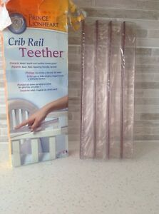 "BRAND NEW! ""CRIB RAIL TEETHER""~SMOKE & PET FREE HOME! Strathcona County Edmonton Area image 2"