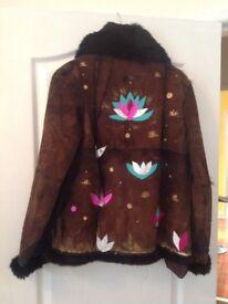 Handmade Designer jacket from London Soho size 10
