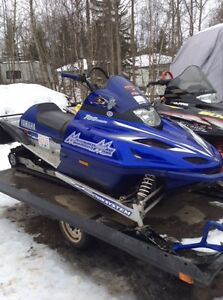 Excellent Condition - Yamaha Mountain Max 700