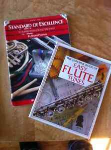 Flute and Clarinet Music Books (instructional)