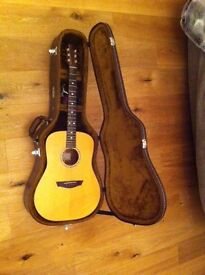 Faith Natural Acoustic Guitar with case