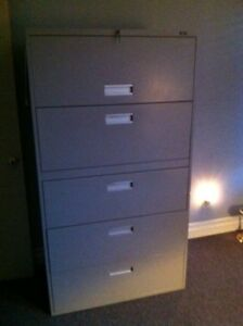 5 Drawer file cabinet