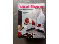 Old Ideal Home magazines