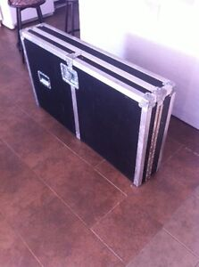 Multi-case crate dj console