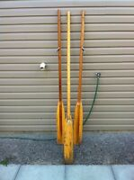 Boat Oars with Paddle