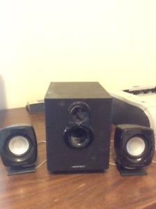 2.1 Channel Mulimedia Speaker for PC with Subwoofer