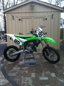 2014 KX100 Great Condition