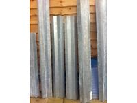 Lintels - galvanised steel - unused