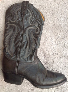 Genuine Tony Lama Lizard Cowboy Boots - Like New