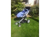Bargain Quinny Buzz including foot muff and Dreami carrycot