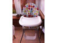 Mama and papa high chair