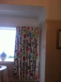 **** REDUCED PRICE - NOW £30 **** CHILDREN'S BEDROOM CURTAINS- BLACKOUT LINED