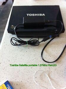 Toshiba Satellite 1.67Ghz Ram 2G Gatineau Ottawa / Gatineau Area image 2