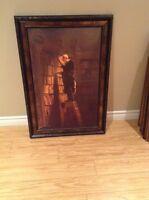 CADRE/FRAMED WALL ART $40