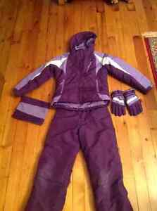 Girls Winter Snowsuit