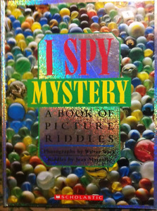 """""""I SPY BOOKS"""" - (A to Z) - BOOKS OF PICTURE RIDDLES."""