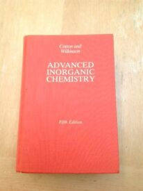 Advanced Inorganic Chemistry Cotton and Wilkinson - 5th Edition - Hardback