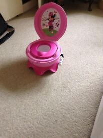 Disney Baby Minnie Mouse 3-in-1 Potty System -Pink