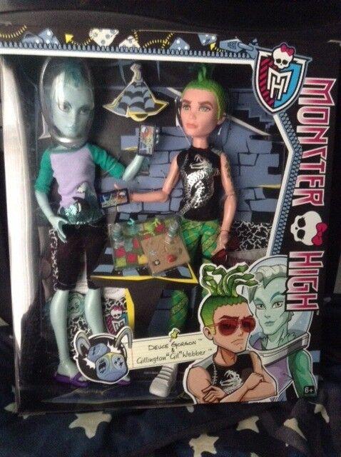 monster high doll deuce gorgon and gillington gil webber bnib 10 in kippax west yorkshire gumtree