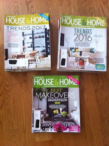Canadian House and Home Magazines