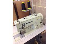 Seiko LSWN-8BL-3 Single needle lockstitch Walking foot industrial sewing machine.