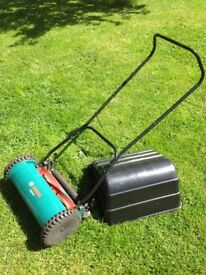 Bosch Push Along Lawnmower - Good Condition