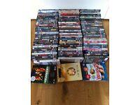LARGE BUNDLE OF DVDs for sale