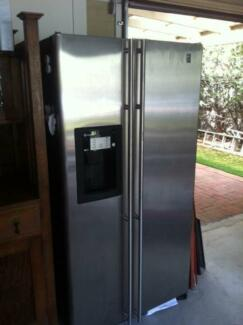 GE Side by Side Fridge Freezer - PCP21SIMFFBS Warriewood Pittwater Area Preview