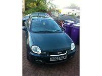 2002 CHRYSLER NEON LX AUTOMATIC - LOW MILES AND LONG MOT