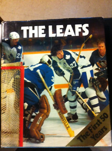 """""""The Leafs - The first 50 Years"""" - Hardcover Book."""