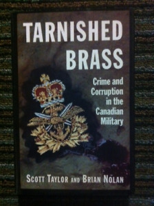 Tarnished Brass-book-Crime & Corruption in the Canadian Military