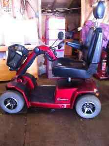 Used 4-Wheel Scooter (Model Celebrity XL)