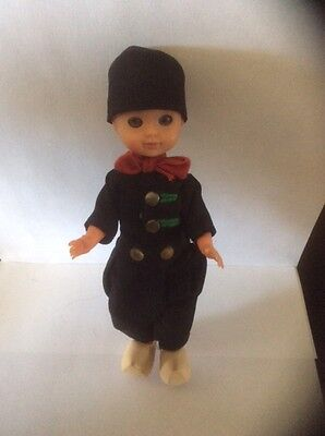 Vintage 1970's Dutch Boy Doll, Souvenir